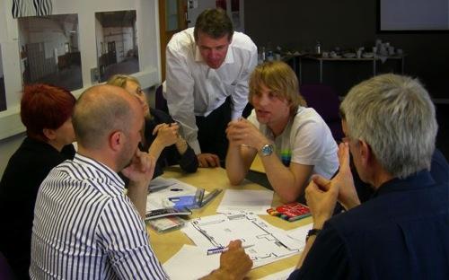 Group 2 discuss their outcome of a teaching room.jpg