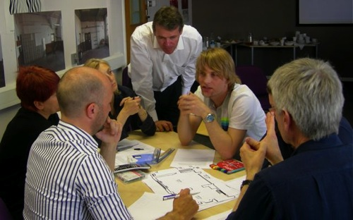 Group 2 discuss their outcome of a teaching room.jpg