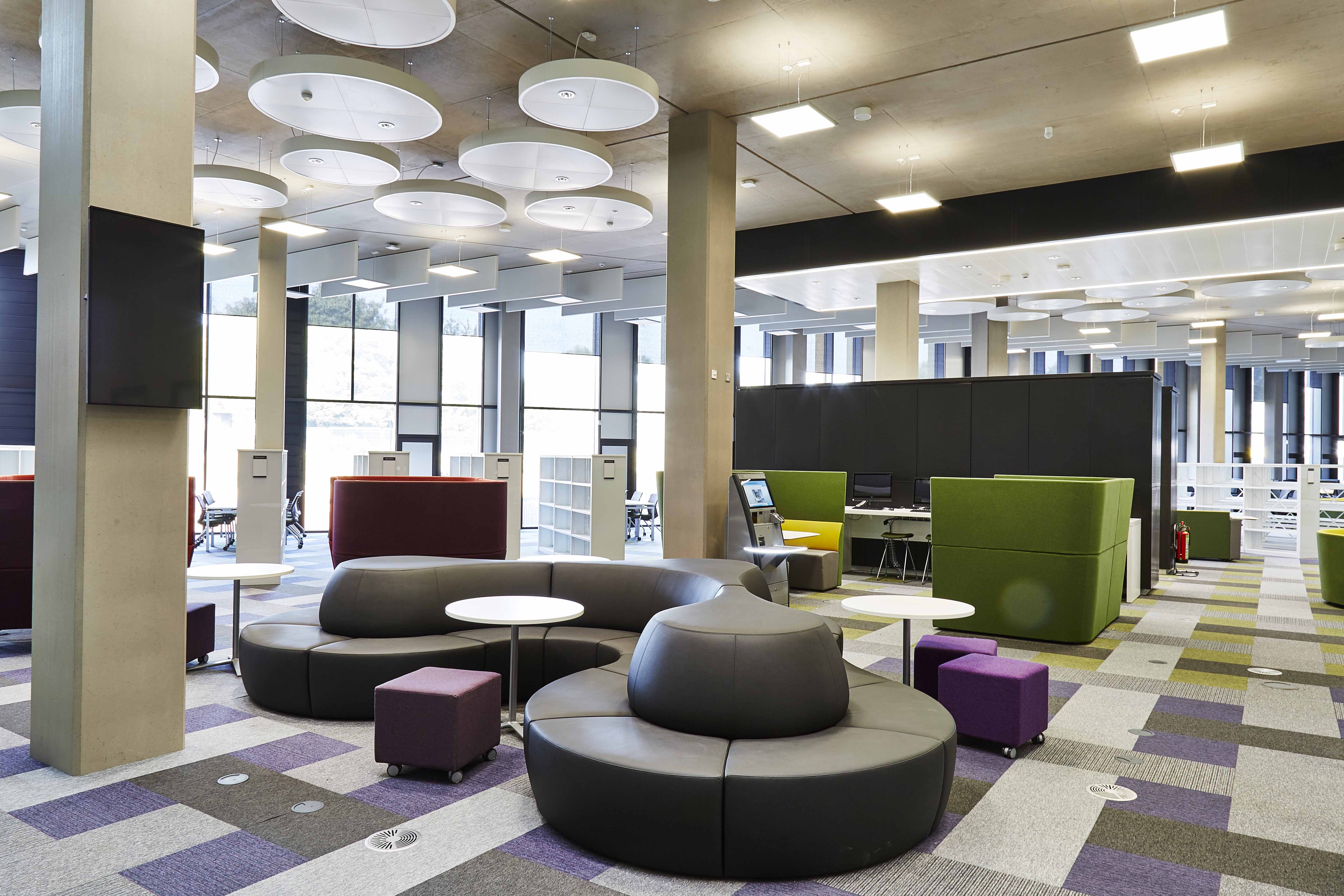 The New University Library 2016 Learning Environment Design